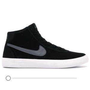 Nike Low Top Shoe SB Bruin High Black Dark Grey